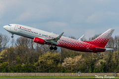 [ORY] Rossiya Boeing 737-800 _ VP-BOH (thibou1) Tags: thierrybourgain ory lfpo orly spotting aircraft airplane nikon d810 tamron sigma rossiya boeing boeing737 b737 b737800 b738 vqboh takeoff