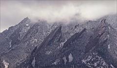 Colorado Spring Storm Lifts (Front Ranger) Tags: boulder colorado flatirons rockymountains rockies snow clouds