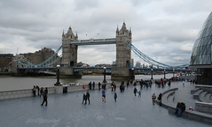 Tower Bridge (jane_sanders) Tags: london cityhall thescoop scoop queenswalk morelondon londonbridgecity towerbridge bridge thetower guoman hotel riverthames river thames stkatharinedocks canarywharf