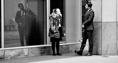 Go On, Pull The Other One (jaykay72.) Tags: london uk street candid streetphotography marklane stphotographia blackandwhite bw