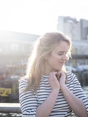 Laura, Rotterdam 2019: Heart-shaped hands (mdiepraam (35 mln views)) Tags: laura rotterdam 2019 portrait pretty attractive beautiful elegant classy gorgeous dutch blonde girl woman lady naturalglamour rijnhavenbrug bridge backlight fenixfoodfactory