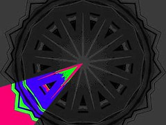 Slice of Happiness (Kombizz) Tags: kombizz kaleidoscope experimentalart experimentalphotoart photoart epa samsung samsunggalaxy fx abstract pattern art artwork geometricart c4352 morebid morbid sliceofhappiness colorfullife sadness futurefear darkfuture 12partofsadness kamyar blackwhite gray pink purple green black