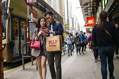 Street Style (人間觀察) Tags: leica m240p leicam leicamp f20 f2 hong kong street photography people candid city stranger mp m240 public space walking off finder road travelling trip travel 人 陌生人 街拍 asia girls girl woman 香港 wide open 28mm