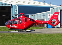 G-ORST Eurocopter EC135 (SteveDHall) Tags: aircraft airport aviation airfield aerodrome helicopter blackpool blackpoolairport 2019 bpl blk egnh gorst eurocopter ec135 eurocopterec135 ec35 orsted offshore windfarms