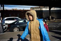 Parka (dtanist) Tags: nyc newyork newyorkcity new york city sony a7 7artisans 35mm brooklyn bensonhurst 86th street parka coat boy child kid