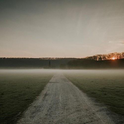 Einen guten Start in die Woche #deewayner #deewaynerphotography #morningsun #fog #grossenbrach #rhoen #adventuretime #wanderlust #sun