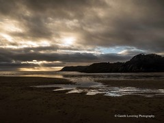 Sunset over Caswell Bay 2019 01 25 #9 (Gareth Lovering Photography 5,000,061) Tags: sunset sun sunny sunshine caswell gowercoast gower swansea wales seaside landscape beach walescostalpath olympus penf garethloveringphotography