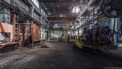 Abandoned forging plant (trip_mode) Tags: abandoned urbex decay urban exploration power hall trespassing industrial architecture buildin factory forging press plant