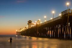 Oceanside, CA, USA (rashulo) Tags: canon6dii oceanside california pier ocean surfing sunset