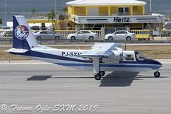 DSC_9640Pwm (T.O. Images) Tags: sxm airways britten norman islander pjsxm st maarten princess juliana airport