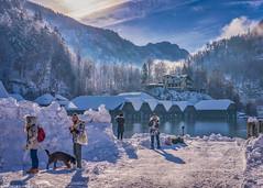 Berchtesgaden and Lake Königssee (Robert Schüller) Tags: snowfall berchtesgaden königssee bavaria cathastrophic