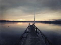 The dock (lydiacassatt) Tags: hipstamatic