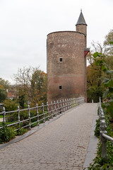 Poertoren, Brugge (itmpa) Tags: bruges westflanders belgium be poertoren powdertower tower brick 1401 15thcentury janvanoudenaerde unesco worldheritagesite brugge flanders tomparnell archhist canon 6d canon6d