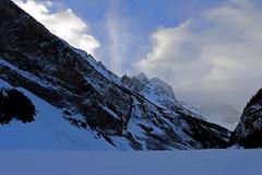 Fairview Mountain and Mount Victoria, Lake Louise (jmichael100) Tags: banffnationalpark lakelouise mountain mountaininwinter
