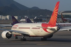 Air India (So Cal Metro) Tags: airline airliner airplane aircraft plane jet aviation airport hongkong hkg
