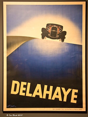 Delahaye cars (ianhb) Tags: germany hamburg museum artdeco advertising poster