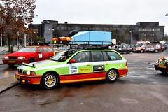 Start Carbage Run winter 2019 - Kopenhagen (FaceMePLS) Tags: kopenhagen copenhagen denemarken denmark scandinavië facemepls nikond5500 rally car voiture pkw wagen voertuig carbageteam5443 bmw