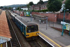Arriva Trains Wales (Will Swain) Tags: cardiff queen street station 11th august 2018 train trains rail railway railways transport travel uk britain vehicle vehicles cymru west wales north europe atw caerphilly valley lines