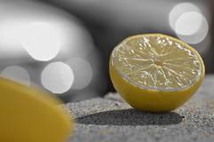 ¿Arisca yo? Pero si soy más dulce que un limón...🍋🍋 (elena m.d.) Tags: sigma sigma105 nikon d5600 bokeh amarillo yelow