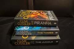 Books (Rudi Pauwels) Tags: 2019onephotoeachday books clivecussler