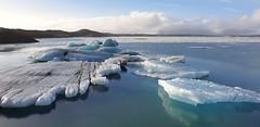 Ice raft (Selftravel) Tags: iceland ice cold island sea nature