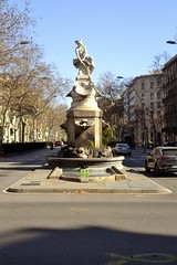 FONT DE DIANA (Yeagov_Cat) Tags: 2019 barcelona catalunya carrerrogerdellúria diana font fontdediana granviadelescortscatalanes 1919 venancivallmitjana