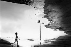F_MG_0046-1-BW-1-Canon 6DII-Tamron 28-300mm-May Lee 廖藹淳 (May-margy) Tags: bokeh blur 散景 模糊 下雨天 raining maymargy bw 黑白 人像 逆光 剪影 倒影 水灘 路燈 臉譜 水泥 地坪 街拍 線條造型與光影 天馬行空鏡頭的異想世界 心象意象與影像 幾何構圖 點景 點人 台灣攝影師 台北市 台灣 中華民國 fmg00461bw1 portrait backlighting silhouette puddle facesinplaces streetviewphotography street lamp concrete pavement reflection humaningeometry humanelement taiwanphotographer taipeicity canon6dii tamron28300mm maylee廖藹淳 linesformandlightandshadow mylensandmyimagination naturalcoincidencethrumylens