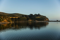 San Gregorio State Beach (CraDorPhoto) Tags: canon5dsr landscape water ocean reflection coast coastline california usa outdoors sky blue