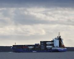 Samskip Container Ship Passing Duncannon (Gilli8888) Tags: nikon p900 coolpix ireland duncannon sea irishsea seaside coast coastal coastline irishcoast maritime ships vessels samskip