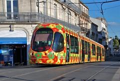 Montpellier, Rue du Pont de Lattes 26.09.2007 (The STB) Tags: montpellier tram tramway streetcar strassenbahn strasenbahn publictransport citytransport öpnv transportpublic france french