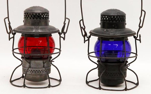 C&O Railroad Lantern with Red Globe  ($123.20)