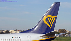 EI-DAJ LMML 06-03-2019 Ryanair Boeing 737-8AS CN 33548 (Burmarrad (Mark) Camenzuli Thank you for the 17.2) Tags: eidaj lmml 06032019 ryanair boeing 7378as cn 33548