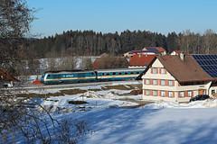 Allgaeubahn_Biesenberg_2019-02-18 (claus_pusch) Tags: eisenbahn railroads cheminsdefer allgäubahn münchenkemptenlindau clauspusch alex arriva heimenkirchbiesenberg