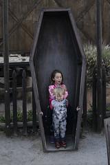 Ash Tries But Fails (evaxebra) Tags: knott knotts berry farm california socal amusement theme park peanuts celebration woodstock festival cemetary coffin box pretend boothill dead