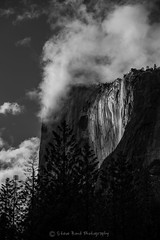 _1zMB6296 (captured by bond) Tags: elcapitan yosemite horsetailfalls waterfall clouds blackandwhite horsetailfall california nikon