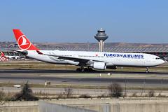 Turkish Airlines  Airbus A330-303 TC-JOF (widebodies) Tags: madrid mad lemd widebody widebodies plane aircraft flughafen airport flugzeug flugzeugbilder turkish airlines airbus a330303 tcjof