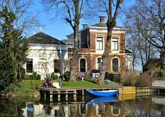 Groningen: Onderdendam, Boterdiep house (Henk Binnendijk) Tags: onderdendam groningen nederland netherlands holland dutch boterdiep uiterdijk middelstumerweg