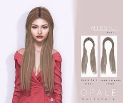 Opale . Missili Hair @ Sultry February'19 (Opale HairStore) Tags: 3d mesh opale hair event sultry salon sl second life