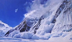 Alps - Spectacular avalanche (Jacques Rollet (very little available)) Tags: neige snow avalanche montagne mountain alpes alps groupenuagesetciel