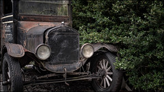 1930s Ford truck (ducatidave60) Tags: fuji fujifilm fujinonxf23mmf14 fujixt1 abandoned decay dereliction