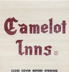 Camelot Inn - Little Rock, Arkansas (The Cardboard America Archives) Tags: littlerock arkansas vintage matchbook matchcover