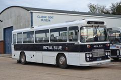 Royal Blue 1318 BOV318L (Will Swain) Tags: newport quay during isle wight buses beer walks weekend 2018 12th october hampshire south coast bus transport travel uk britain vehicle vehicles county country england english royal blue 1318 bov318l