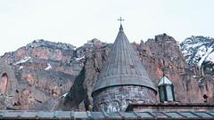 Geghard monastery (Luciferasi) Tags: armenia hayastan travel march 2019 winter spring cold places monastery church architecture religion christianity apostolic history geghard