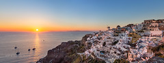_MG_9542 - Oia sunset (AlexDROP) Tags: 2017 europe greece santorini oia greek sea travel color city urban cityscape sunset architecture panoramic skyline canon6d ef241054lis best iconic famous mustsee picturesque postcard