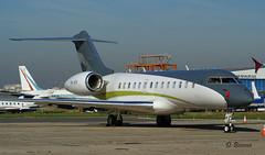 Bombardier BD 700-1A11 Global 5000 n° 9249 ~ 9H-AFR  Comlux (Aero.passion DBC-1) Tags: spotting lbg 2009 dbc1 david biscove aeropassion avion aircraft aviation plane airport bombardier bd 7001a11 global 5000 ~ 9hafr comlux