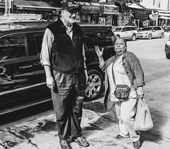 I Guess She Saw My Camera (david feld) Tags: newyork people monochrome urban street bronx