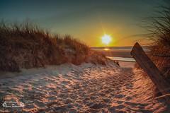 Langeoog im Februar (2018) (Betrachtungsweisen) Tags: langeoog insel nordsee germany strand beach langzeitbelichtung longexposure meer canon eos 77d dünen sonnenuntergang sunset