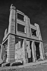 Cook Bank Building Ruins - Rhyolite, Nevada (11/29/2007) (rbb32) Tags: ghost town
