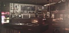 Greg's Bar (Greg Noyes) Tags: gregs bar second life kunst pub club drink beer wine dj billiards darts decor glass trompe loeil the karin cottage no 59 decoration winter mesh intan couple bento dances vista ideza gacha rare polska poland party music