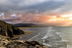 Criccieth (Maisiebeth) Tags: criccieth blackrock sands beach seaside waves rocks sea northwales wales coast llynpeninsula snowdonia